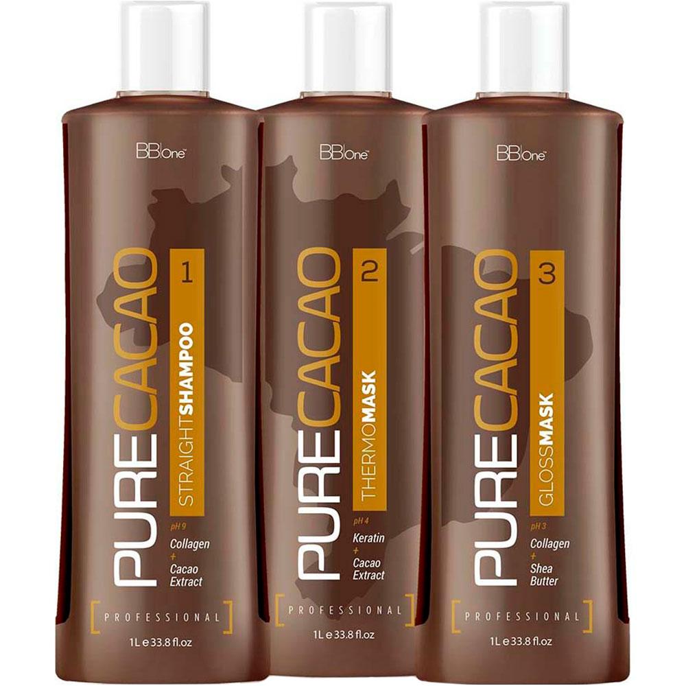 Набор для кератинового выпрямления Pure Cacao BbOne
